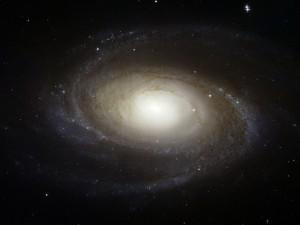 Postal: Galaxia espiral Messier 81