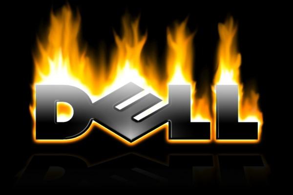Dell en llamas