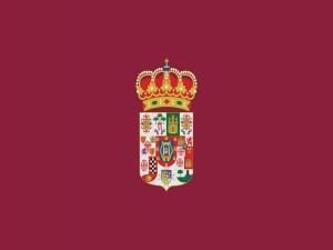 Postal: Bandera provincial de Ciudad Real (España)