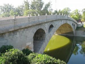 Puente de Anji sobre el río Xiao (China)