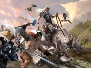 La batalla de Odín