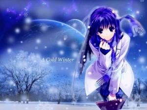 Postal: Un invierno frío