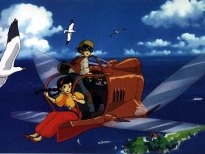 Postal: Sobrevolando la isla