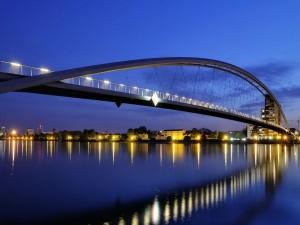 El puente de los Tres Países