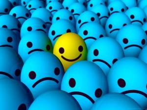 Feliz entre tristes