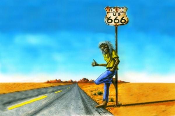 Eddie en la Ruta 666