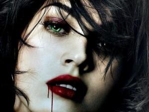 Vampiresa de ojos verdes