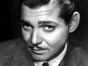 Postal: Clark Gable