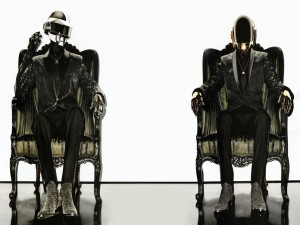 El dúo de música electrónica Daft Punk