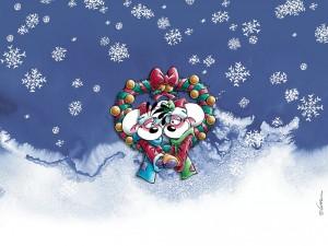 Postal: Navidad con Diddl