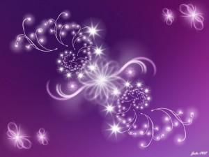 Postal: Flores de luz