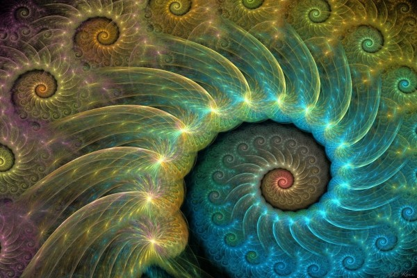 Espiral de fractales