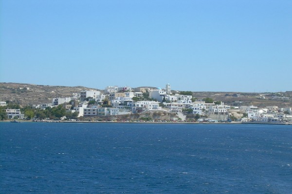 Adamas, isla de Milos, Grecia