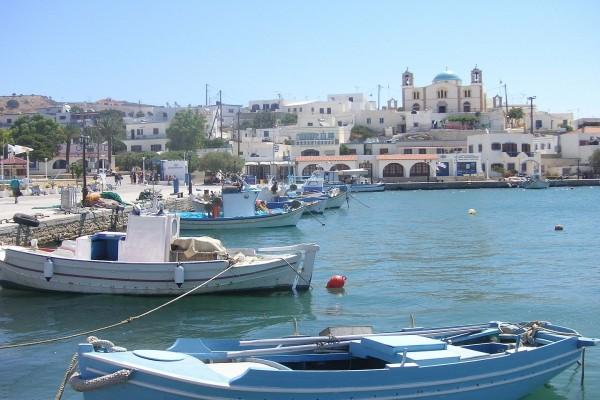 Puerto de la isla Lipsi (Grecia)
