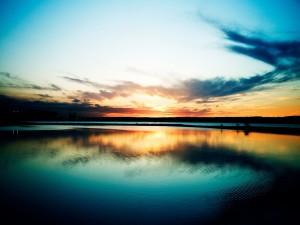 Cielo reflejado