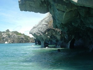 Caverna de Mármol, en el lago General Carrera, Chile