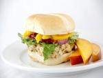 Hamburguesa con mango