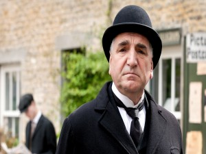 Charles Carson, mayordomo jefe en Downton Abbey