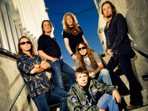 Postal: El grupo Iron Maiden