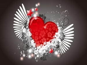 Postal: Corazón libre
