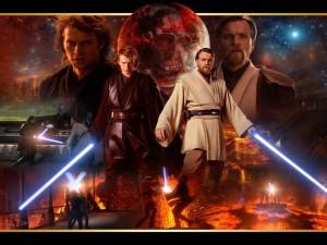 Postal: Obi Wan vs Anakin