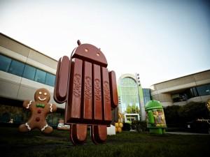 Mascota de Android KitKat, y otras versiones anteriores