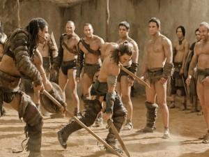 Entrenamiento de gladiadores