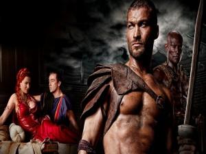 Postal: Spartacus: Sangre y Arena