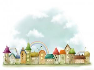 Pueblo del arco iris