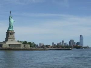 Postal: Estatua de la Libertad