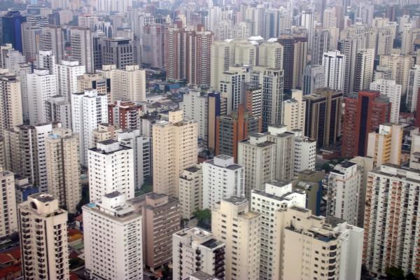 Edificios en una gran ciudad