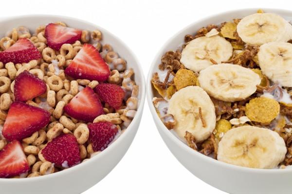 Dos desayunos diferentes