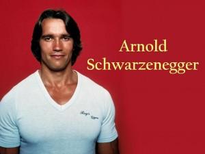 Un joven Arnold Schwarzenegger