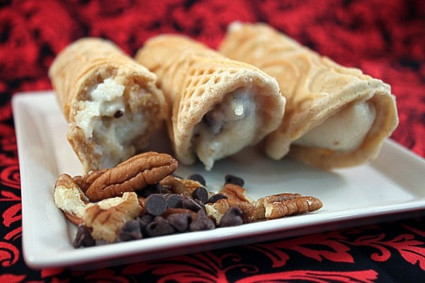 Cannoli con nueces