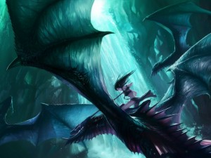 Postal: Maestro dragón