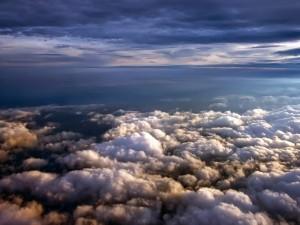 Postal: Un mar de nubes