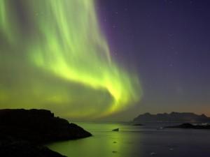 Postal: La Aurora Boreal