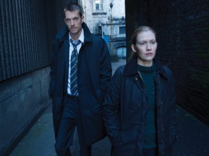 "Linden y Holder, compañeros en ""The Killing"""