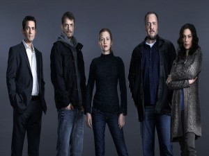 "Reparto principal en ""The Killing"""