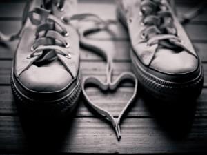 Postal: Un corazón ¿casual?