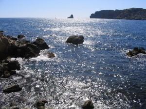 Postal: Illes Medes visto desde l'Estartit