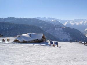 Vista del Valle de Arán desde Baqueira