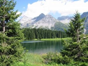 Lago en Arosa (Suiza)