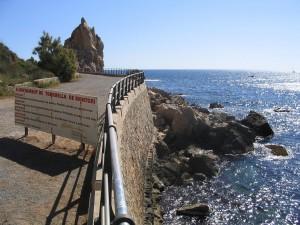 Postal: Costa del municipio de Torroella de Montgrí, en el norte del Estartit