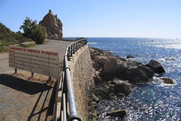 Costa del municipio de Torroella de Montgrí, en el norte del Estartit