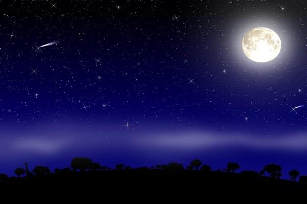 A la sombra de la luna