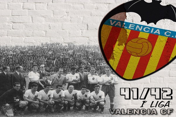 Valencia C.F. Liga 41/42