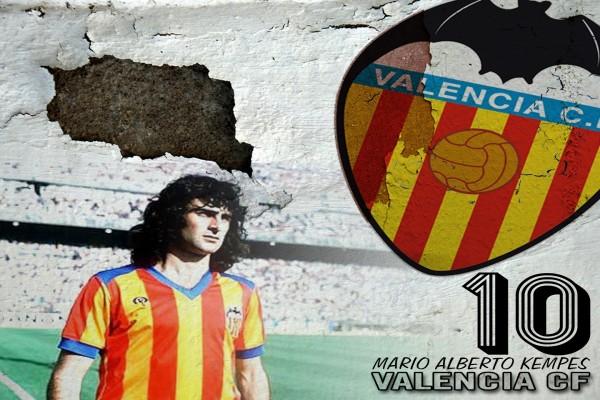 Valencia C.F. Mario Alberto Kempes 10