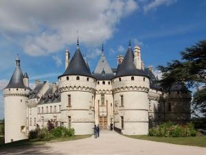 Postal: Castillo de Chaumont