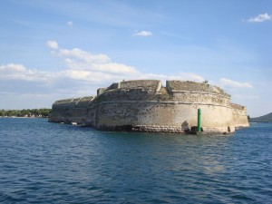 Fortaleza en Sibenik (Croacia)